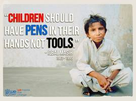 essay child labor teen activism child labor is a big issue in the world kids facing child labor should not have to go through what they go through